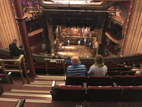 CIBC Theatre, secção: Balcony RC, fila: L, lugar: 414