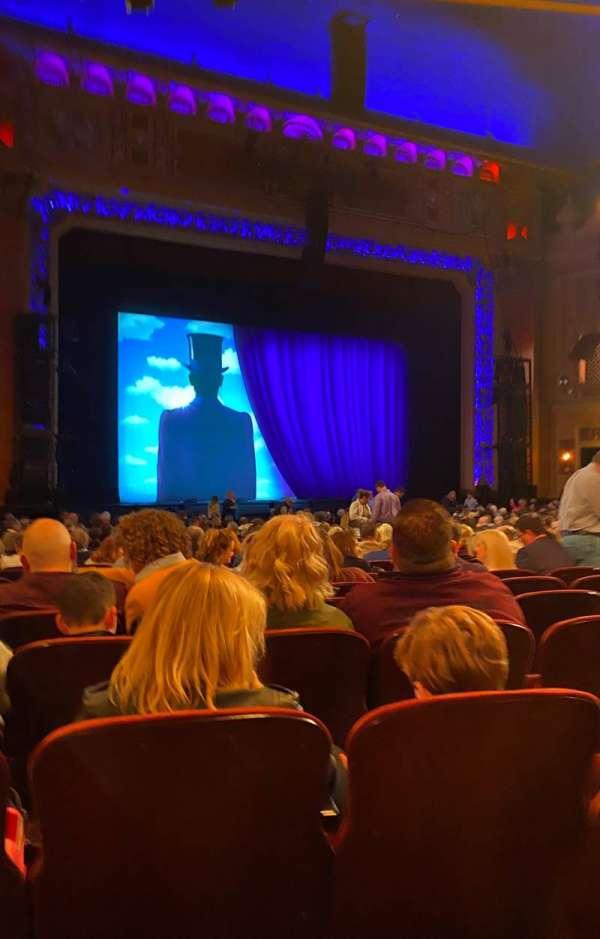 Saenger Theatre (New Orleans), secção: Orchestra L, fila: AA, lugar: 25