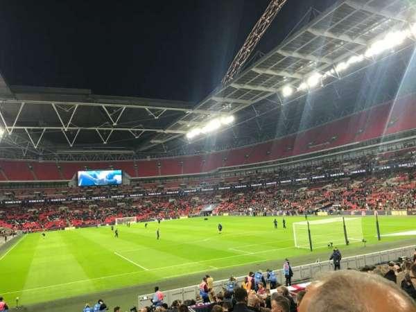 Wembley Stadium, secção: 114, fila: 19, lugar: 60