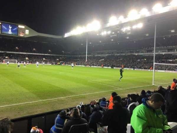White Hart Lane, secção: 36, fila: 7, lugar: 137