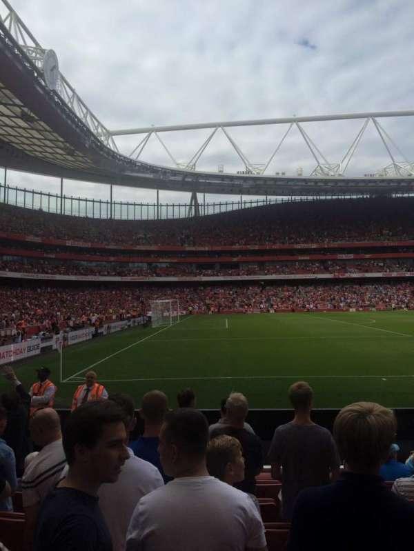 Emirates Stadium, secção: 20, fila: 8, lugar: 602