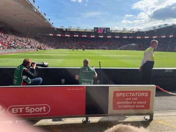 St Mary's Stadium, secção: 45, fila: C, lugar: 1168