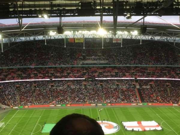 Wembley Stadium, secção: 501, fila: 39, lugar: 25