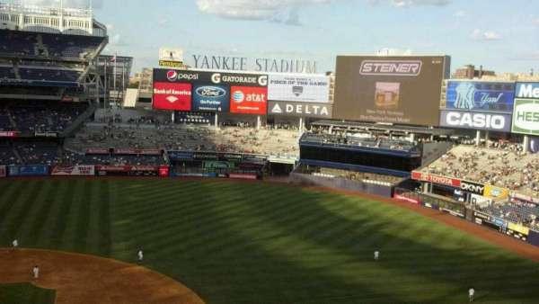 Yankee Stadium, secção: 316, fila: 1, lugar: 8