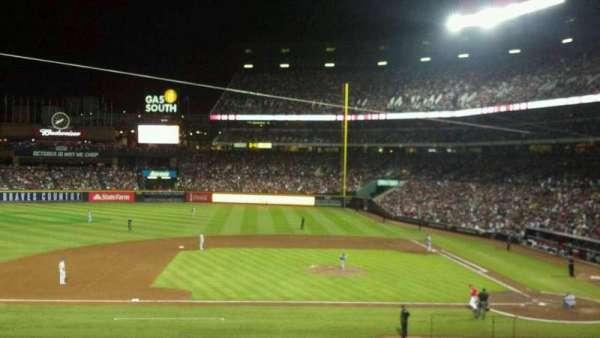 Turner Field, secção: 212, fila: 5, lugar: 6