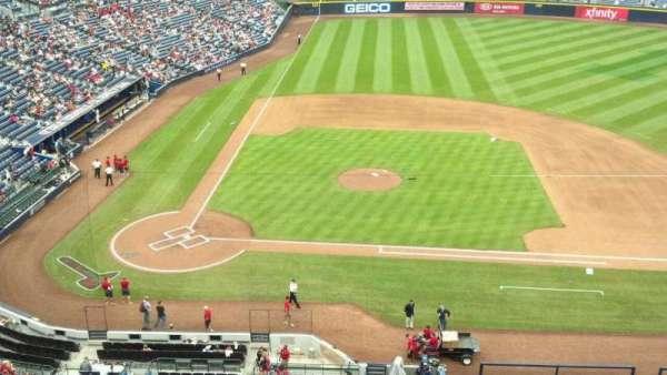 Turner Field, secção: 409, fila: 1, lugar: 7
