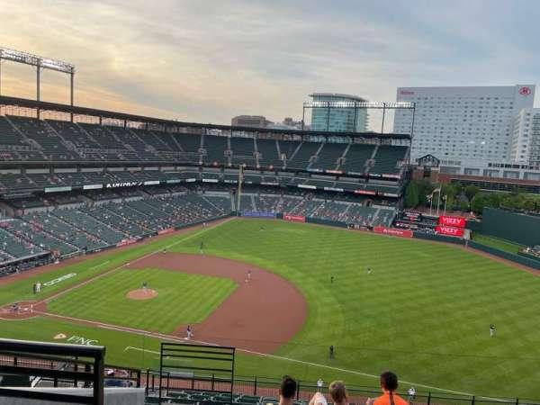 Oriole Park at Camden Yards, secção: 316, fila: 14, lugar: 18