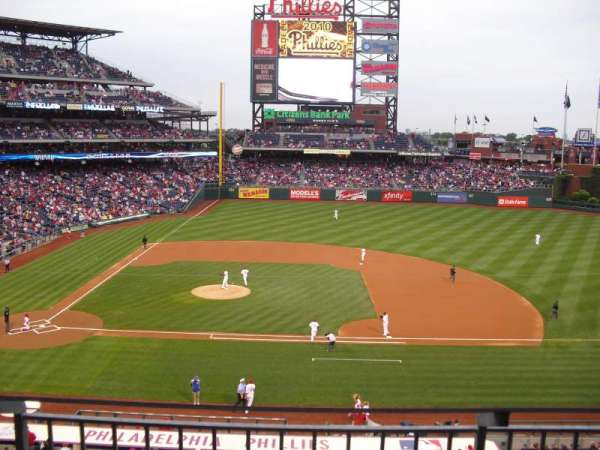 Citizens Bank Park, secção: 216, fila: 2, lugar: 7
