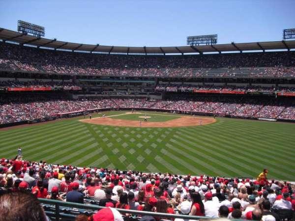 Angel Stadium, secção: P247, fila: C, lugar: 18