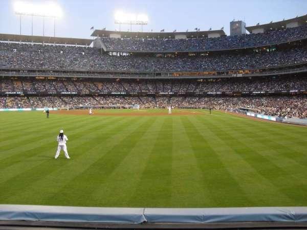 Dodger Stadium, secção: 303PL, fila: A, lugar: 10