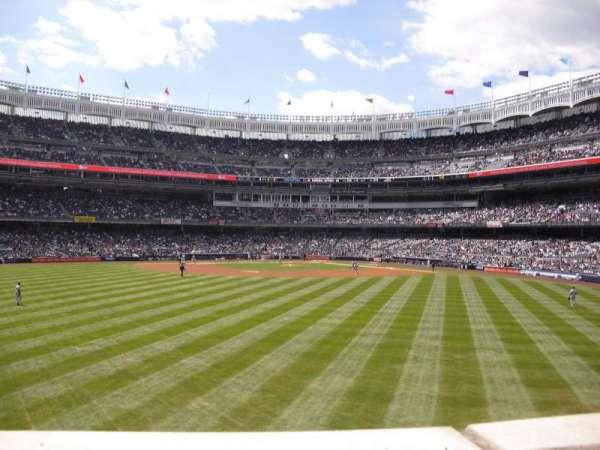 Yankee Stadium, secção: 238, fila: 1, lugar: 23