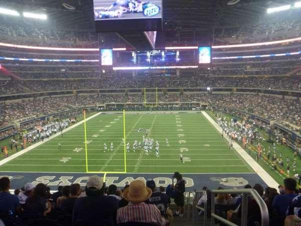 AT&T Stadium, secção: 247, fila: SRO