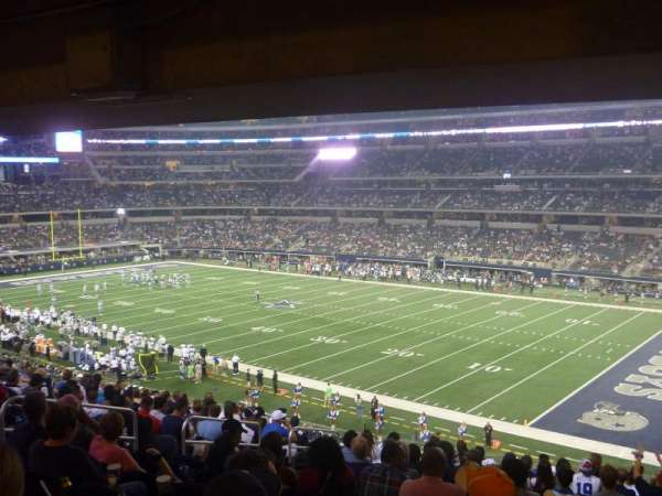 AT&T Stadium, secção: 205, fila: 15, lugar: 14