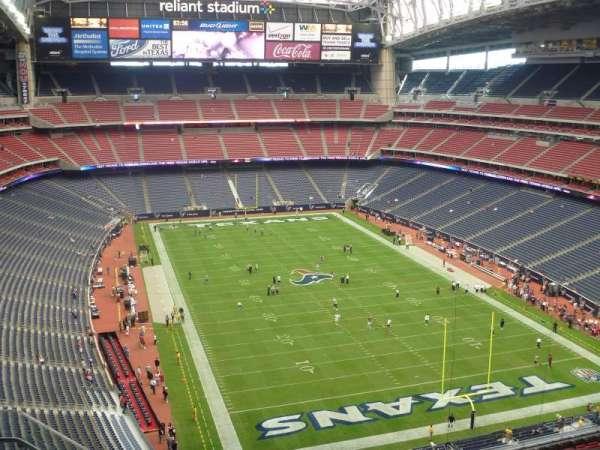 NRG Stadium, secção: 624, fila: E, lugar: 3