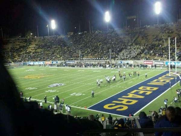 California Memorial Stadium, secção: JJ, fila: 41, lugar: 19