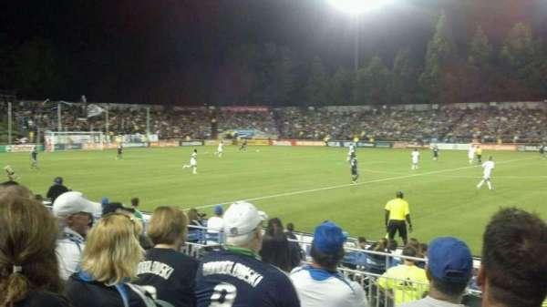 Stevens Stadium, secção: 117, fila: 6, lugar: 1
