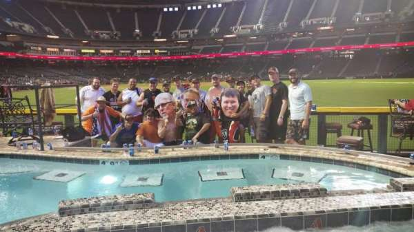 Chase Field, secção: Pool Suite