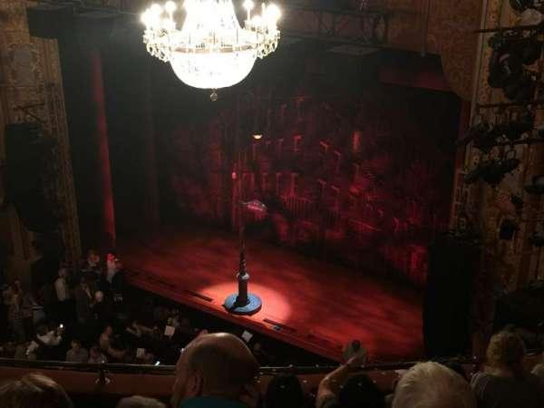 Longacre Theatre, secção: Mezzanine R, fila: F, lugar: 13
