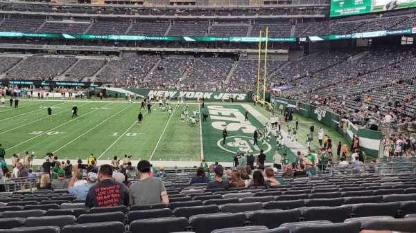 MetLife Stadium, secção: 134, fila: 26, lugar: 20