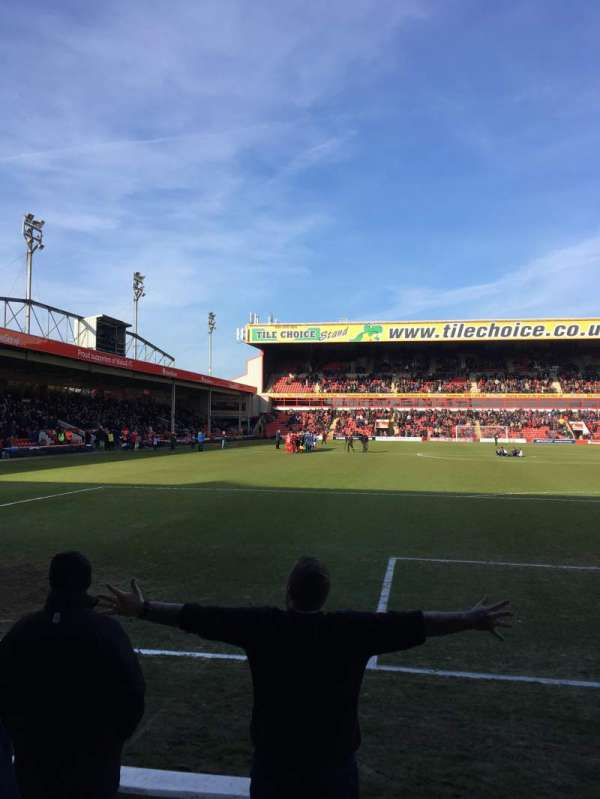 Bescot Stadium, secção: University of Wolverhampton, fila: C, lugar: 92