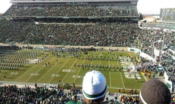 Spartan Stadium, secção: 106, fila: 3, lugar: 25