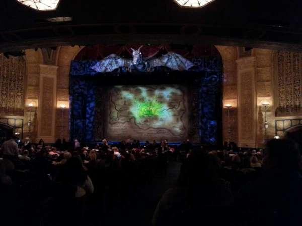Detroit Opera House, secção: Main Floor 4, fila: Y, lugar: 102