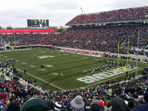 Spartan Stadium, secção: 19, fila: 55, lugar: 21