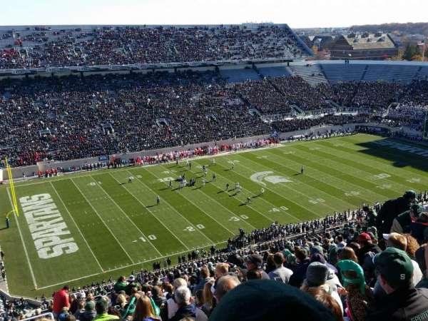Spartan Stadium, secção: 127, fila: 28, lugar: 20