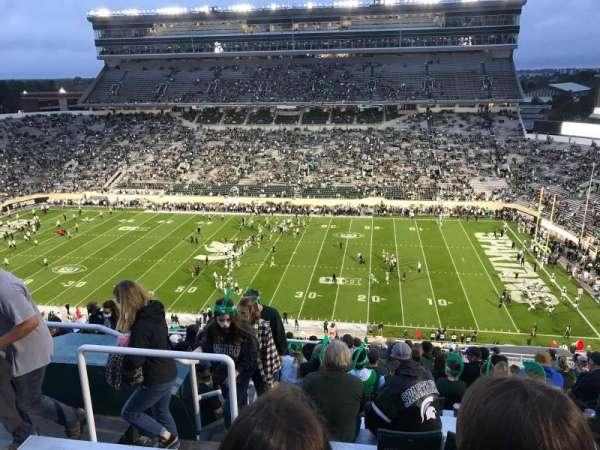 Spartan Stadium, secção: 107, fila: 21, lugar: 14