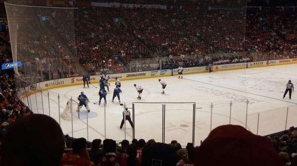 Scotiabank Arena, secção: 121, fila: 14