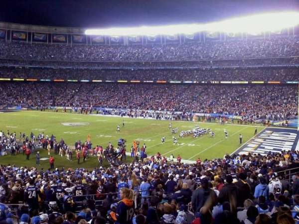 San Diego Stadium, secção: P43, fila: 15, lugar: 5