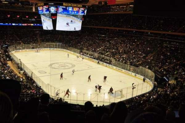 Madison Square Garden, secção: 202, fila: 5, lugar: 3