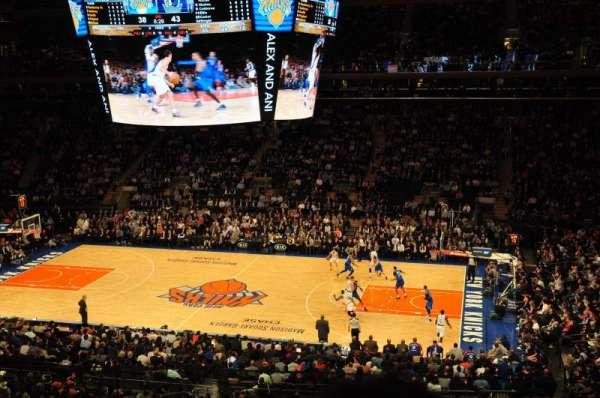 Madison Square Garden, secção: 212, fila: 3, lugar: 18