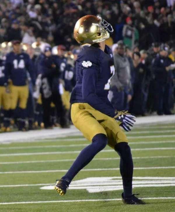 Notre Dame Stadium, secção: FL19, fila: A, lugar: 22