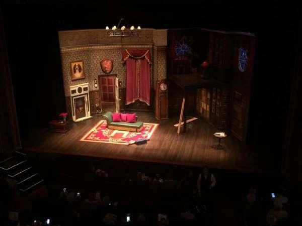 Lyceum Theatre (Broadway), secção: Mezzanine C, fila: C, lugar: 101