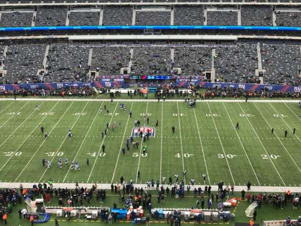 MetLife Stadium, secção: 313, fila: 5, lugar: 15