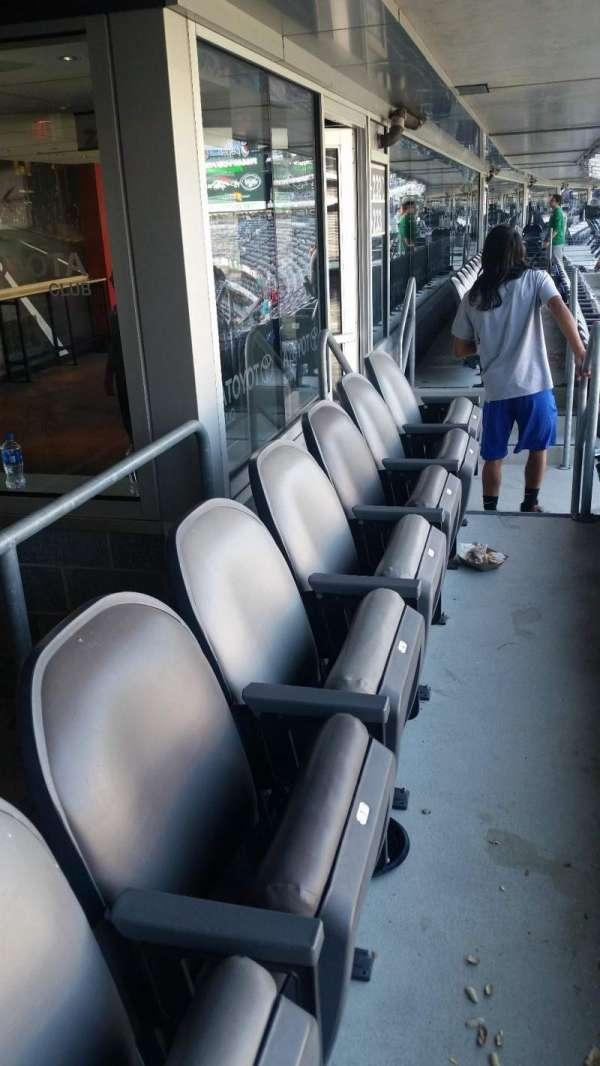 Metlife Stadium, secção: 232C, fila: 14, lugar: 3