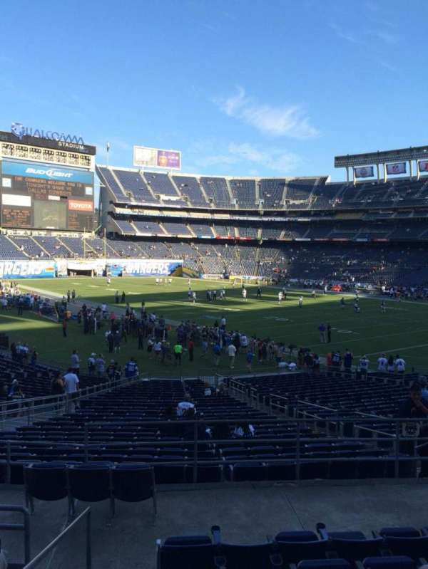 San Diego Stadium, secção: P15, fila: 7, lugar: 1