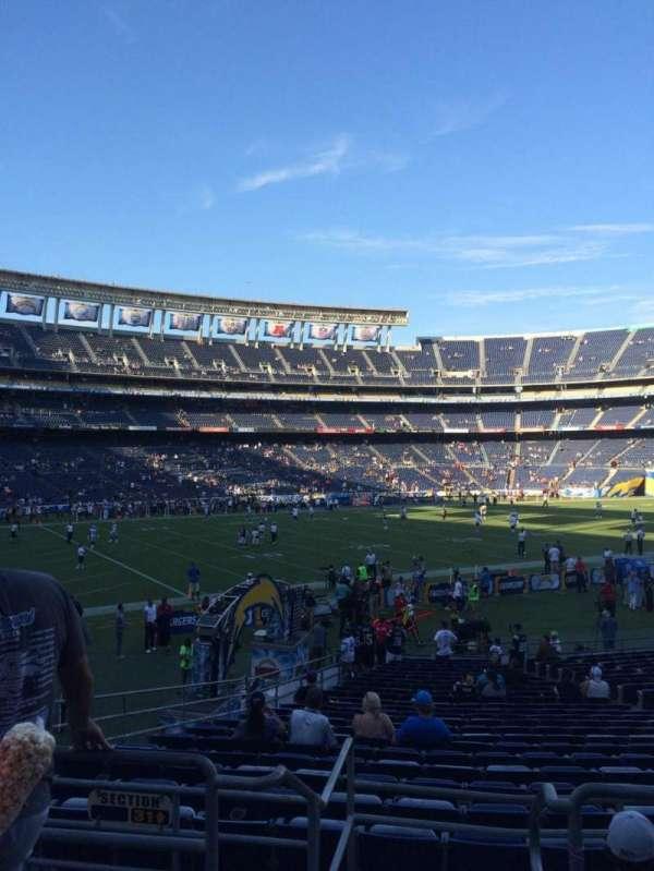 San Diego Stadium, secção: P29, fila: 2, lugar: 9