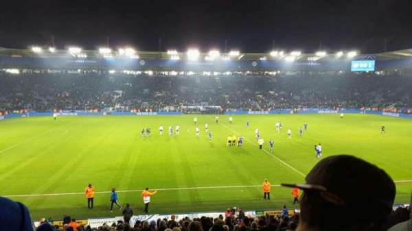 King Power Stadium, secção: J1, fila: X, lugar: 193