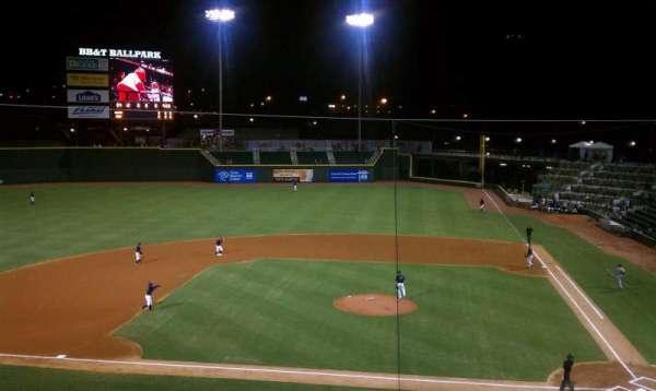 BB&T Ballpark, secção: 111