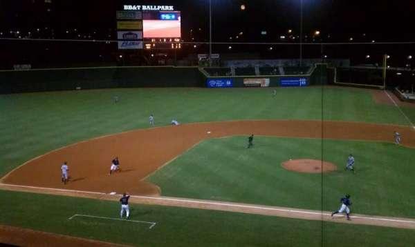 BB&T Ballpark (Winston-Salem), secção: 111
