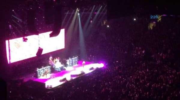 Madison Square Garden, secção: 226, fila: 7, lugar: 1