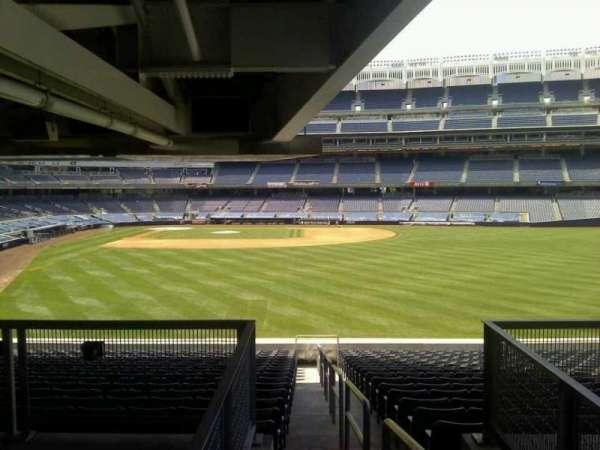 Yankee Stadium, secção: 204, fila: 18, lugar: 1