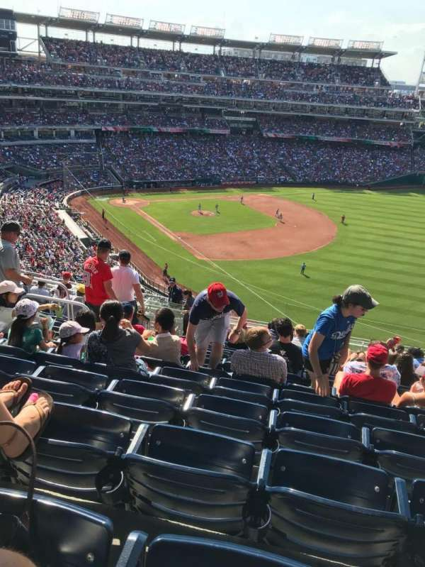 Nationals Park, secção: 228, fila: T, lugar: 17