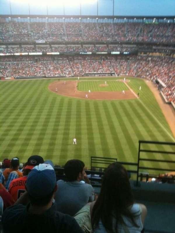 Oriole Park at Camden Yards, secção: 384, fila: 13, lugar: 2