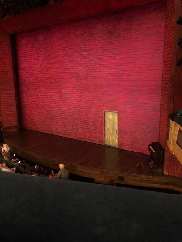 Shubert Theatre, secção: Mezzanine R, fila: A, lugar: 16
