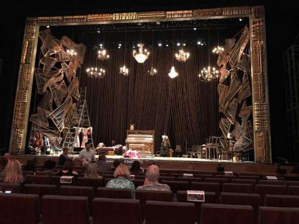 Winspear Opera House, secção: ORC C, fila: R, lugar: 17