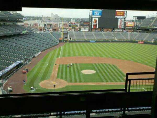 Coors Field, secção: luxury suites