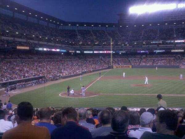 Oriole Park at Camden Yards, secção: 27, fila: 24, lugar: 4
